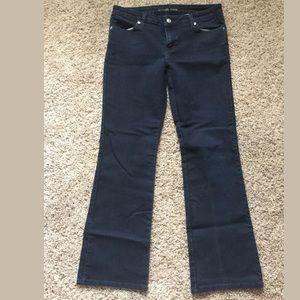 Michael Kors Navy Blue Bootcut Pants Size 6 EUC!